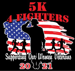 5K For Fighters' Race Logo